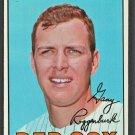 1967 Topps Baseball Card # 429 Boston Red Sox Gary Roggenburk
