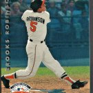 BALTIMORE ORIOLES BROOKS ROBINSON 1992 UPPER DECK FANFEST # 51