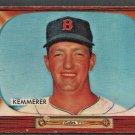 BOSTON RED SOX RUSS KEMMERER 1955 BOWMAN 222