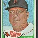 1965 Topps Baseball Card # 251 Boston Red Sox Billy Herman