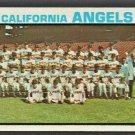 California Angels Team Card 1973 Topps Baseball Card #243