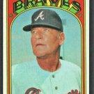 Atlanta Braves Lum Harris 1972 Topps Baseball Card #484