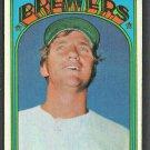 Milwaukee Brewers Ken Brett 1972 Topps Baseball Card #517