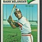 Baltimore Orioles Mark Belanger 1977 Topps Baseball Card 135