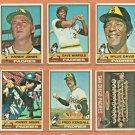 1976 Topps San Diego Padres Team Lot 27 Dave Winfield Randy Jones Willie Davis