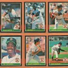 1985 Donruss Boston Red Sox Team Lot 21 Roger Clemens RC Jim Rice Wade Boggs Dwight Evans