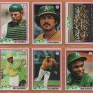 1978 1979 Topps Oakland Athletics Partial Team Set 26 Tony Armas Dwayne Murphy RC Manny Sanguillen