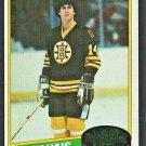 Boston Bruins Bob Miller 1980 Topps Hockey Card 236