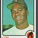 Boston Red Sox Lynn McGlothen 1973 Topps Baseball Card #114 nm