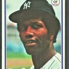 New York Yankees Paul Blair 1978 Topps Baseball Card #114