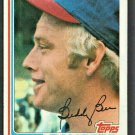 Texas Rangers Buddy Bell 1982 Topps Baseball Card 50 nr mt
