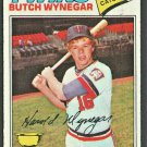 Minnesota Twins Butch Wynegar 1977 Topps Baseball Card #175