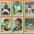 1982 Topps San Francisco Giants Team Set Lot 19 Joe Morgan Jack Clark Vida Blue