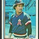 California Angels Juan Beniquez 1982 Topps Baseball card # 572 nr mt