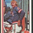 Cleveland Indians Rick Waits 1982 Topps Baseball card # 573 nr mt