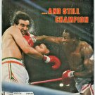 1982 Sports Illustrated Larry Holmes Gerry Cooney Los Angeles Lakers Baltimore Orioles