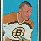 Boston Bruins Bob Leiter 1964 Topps Hockey Card # 63