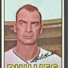 Philadelphia Phillies Bob Buhl 1967 Topps Baseball Card #68 ex mt