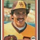 San Diego Padres Luis Salazar Rookie Card RC 1981 Topps Baseball Card #309 nr mt