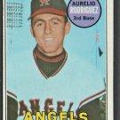 CALIFORNIA ANGELS AURELIO RODRIGUEZ 1969 TOPPS # 653