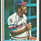 Texas Rangers Al Oliver 1982 Topps Baseball Card #590 nr mt