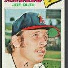 California Angels Joe Rudi 1977 Topps Baseball Card 155