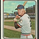 Cleveland Indians Buddy Bell 1974 Topps Baseball Card #257