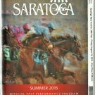 Saratoga Race Course 2015 Program w/ Monmouth Park and Del Mar