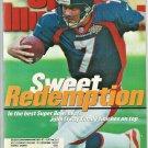 1998 Sports Illustrated Denver Broncos Super Bowl Philadelphia Phillies Grizzlies