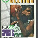 1992 BOSTON CELTICS POCKET SCHEDULE ROBERT PARRISH