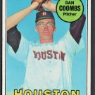 HOUSTON ASTROS DAN COOMBS 1969 TOPPS BASEBALL CARD # 389