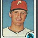 Philadelphia Phillies Ken Brett 1973 Topps Baseball Card # 444 nr mt