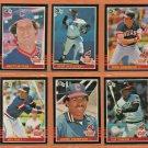 1985 Donruss Cleveland Indians Team Set Lot 18 Andre Thornton Brett Butler Mike Hargrove