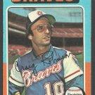 Atlanta Braves Craig Robinson 1975 Topps Baseball Card 367