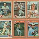 1983 1984 1985 Fleer Baltimore Orioles Team Set Lot 20 Mike Flanagan Ken Singleton John Lowenstein