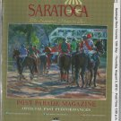 Saratoga Race Course 2012 Program with Monmouth Park