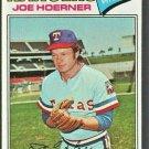 Texas Rangers Joe Hoerner 1977 Topps Baseball Card # 256 ex