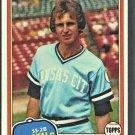 Kansas City Royals Rance Mulliniks 1981 Topps Baseball Card # 433 nr mt
