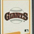 1990 Fleer Box Bottom Limited Edition Checklist San Francisco Giants Logo # C1