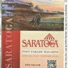 Saratoga Race Course 2011 Program w/ Monmouth Park Irad Ortiz Apprentice