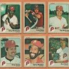 1983 1984 Philadelphia Phillies Team Lot Set 27 Pete Rose Gary Matthews Tug McGraw
