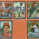 1985 Donruss Minnesota Twins Team Lot Team Set 16 Mickey Hatcher Gary Gaetti Ron Davis