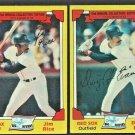Boston Red Sox Jim Rice Dwight Evans 1982 Drakes Big Hitters