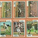 1974 1975 New York Mets Team Lot Team Set 15 Tom Seaver Team Card Jerry Koosman Jon Matlack