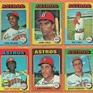 1975 1976 Topps Houston Astros Team Lot Team Set Jose Cruz Cesar Cedeno Ken Forsch
