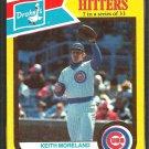 Chicago Cubs Keith Moreland 1987 Drakes Big Hitters Baseball Card #7
