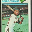 San Francisco Giants Derrel Thomas 1977 Topps Baseball Card #266 em/nm