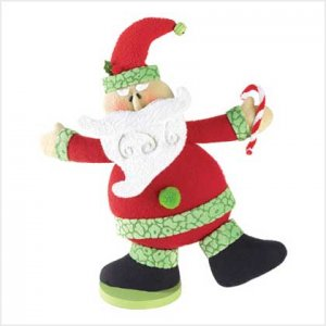 Santa Plush Figure