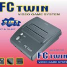 FC Twin NES/SNES Console - Dark Gray (New)