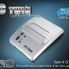FC Twin NES/SNES Console - Silver/Black (New)